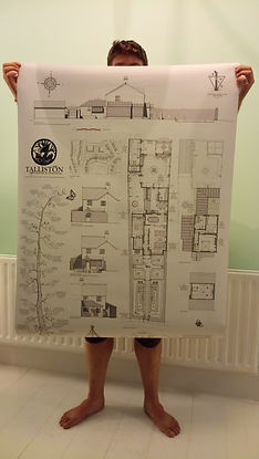 xHobbit Sam modelling room plans.JPG