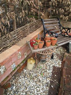 Broken pots Gardener's rest