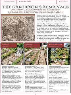 The Gardener's Almanack #3