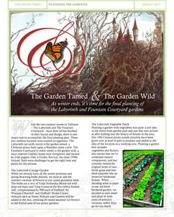 Article #7 Planning The Talliston Gardens