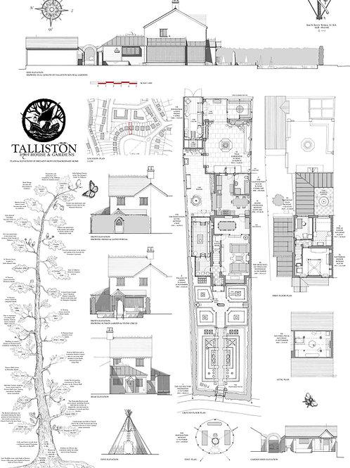 The Talliston Room Plans A0