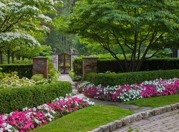 idei-dizaina-dvora-chastnogo-doma-cvety
