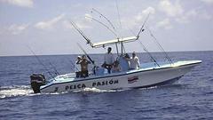 Costarica - Golfito imbarcazione da pesca