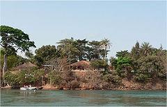 Bijagos - Les Douphin club  visto dal mare