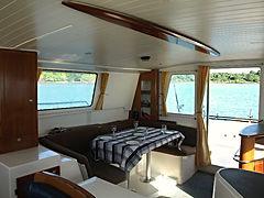 Nosy Be' - catamarano per crociere di pesca - plancia
