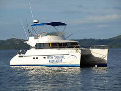 Nosy Be' - catamarano per le crociere di pesca