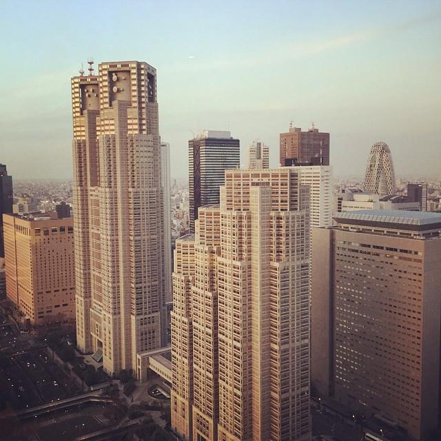 View from Park Hyatt hotel🌆