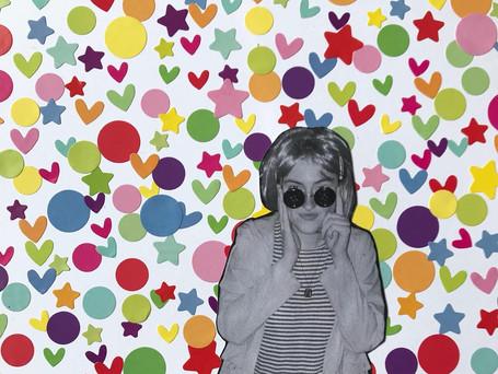Hearts, stars and circles