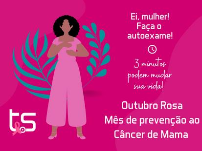Outubro Rosa! A importância de se conscientizar