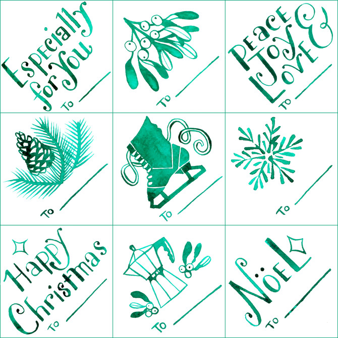 Remember These Tiny Christmas Tags? FREE! [Holiday Gift Tags]