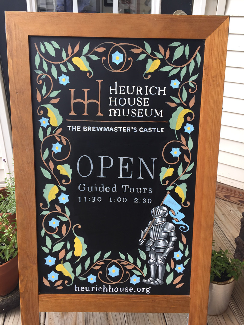 Heurich House Museum Sign