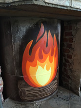 Fire art