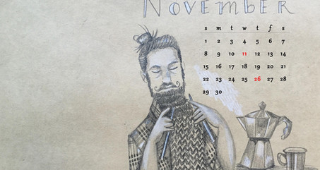 Happy November! (free desktop download)