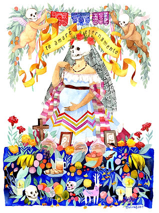 Ofrenda Day of the Dead altar