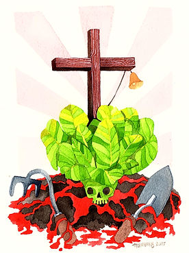 """If you pant lettuce on Good Friday, it will not grow and the ground will bleed."""