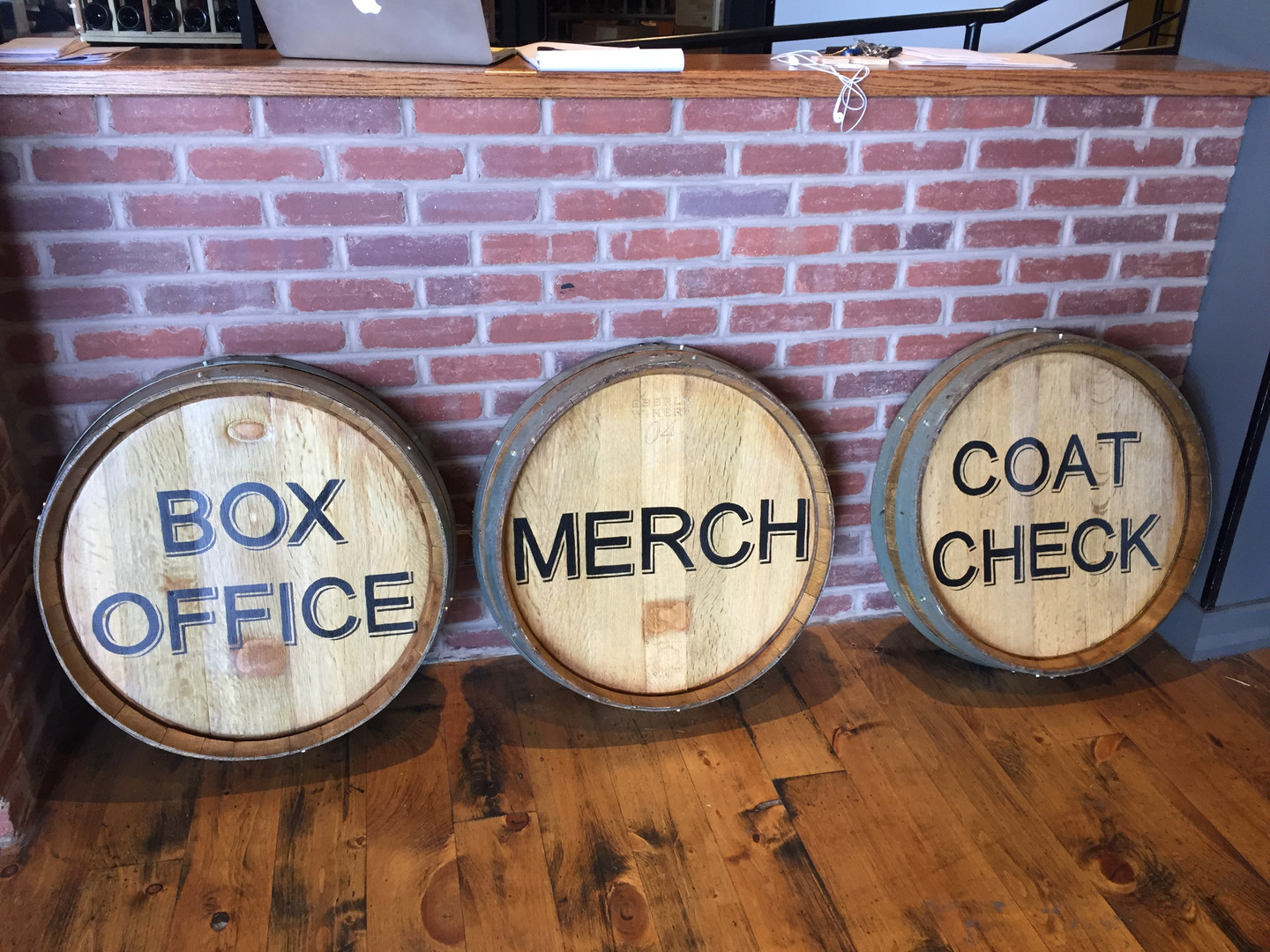 City Winery's Signs