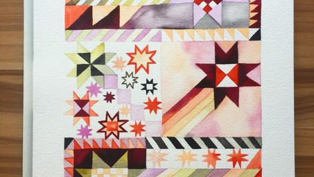 """""""Patterns"""" Group Art Show - Cactus Gallery LA"""