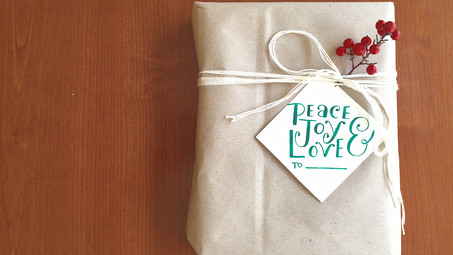 Gift-giving and FREE GIFT TAGS
