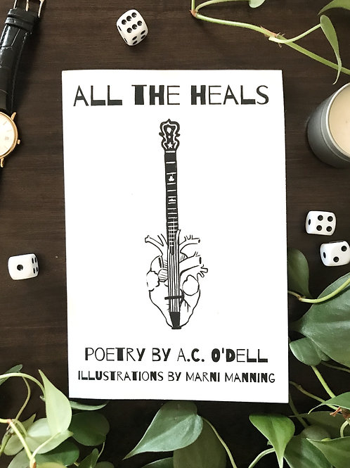 """All the Heals"" Poetry Book"