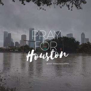 Sending positive Vibes to Houston. #prayforhouston