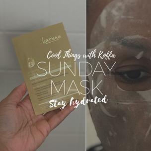 Sunday Mask Day: Trying Karuna Skin via Ipsy.com