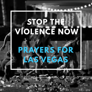 Stop the violence NOW, sending prayers to Las Vegas, NV
