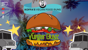 VEGAN FOOD RUN | Vurger Guyz | KOFFATV