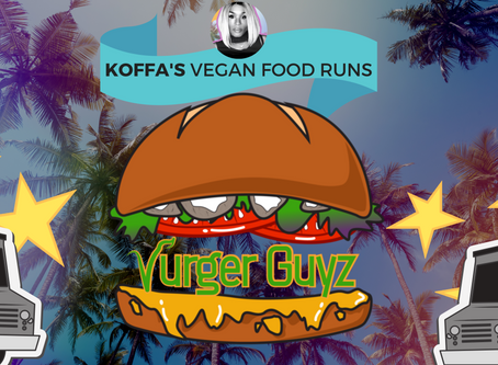 VEGAN FOOD RUN | Vurger Guyz | KOFFATV