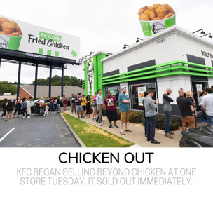 KFC vegan chicken nuggets sold out within hours