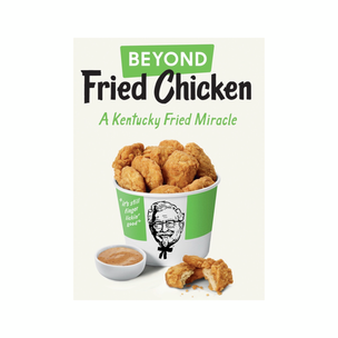 KFC and Beyond Meat and making fried chicken 🍗