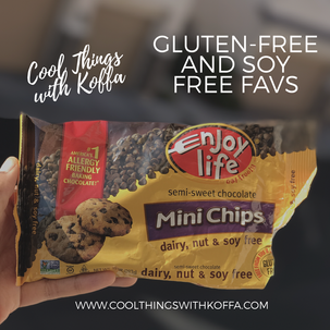 My favorite gluten free, soy free, dairy free chocolate 🍫