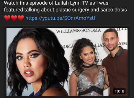 Watch me on LaIlan Lynn TV