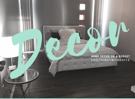 Home Decor on a budget: Looking great without breaking the bank.