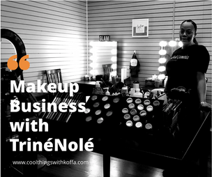 "A Business of Beauty, ""TrinéNolé, a cosmetic line... in South Los Angeles , Compton and two oth"