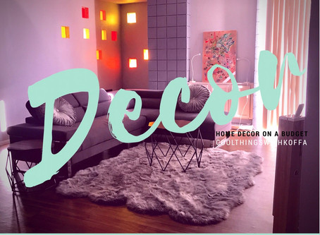 Home Decor On a Budget: Living Room Edition.