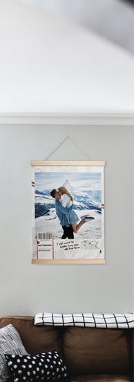 Hanging Walker Poster
