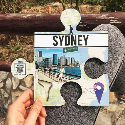 Classic Walker Puzzle as a personalised travel souvenir and travel home decor