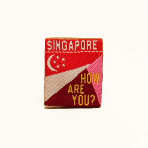 Walker Badge - Singapore