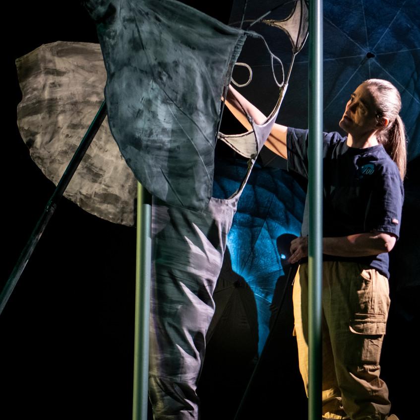 Elinor Holt as Karen  Co-Puppet Design: Randall Fraser and T. Erin Gruber