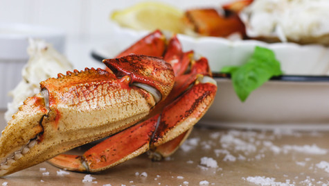 #VancouverTakeOut: Steamed Dungeness Crab