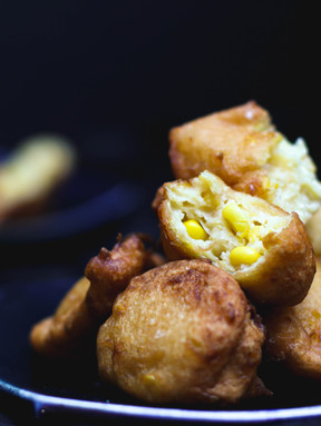 My Mother's Corn Fritters