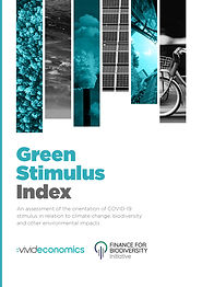 The latest version of the Green Stimulus Index, produced in cooperation with F4B and Vivid Economics, has been released.