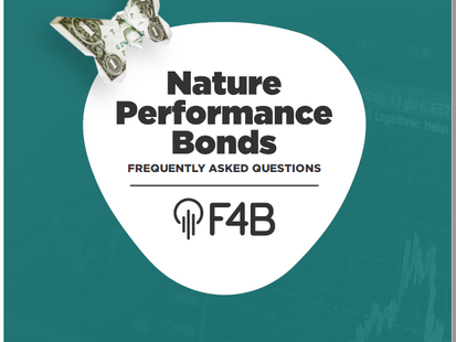 """F4B releases """"Nature Performance Bonds - Frequently Asked Questions"""""""