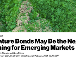 Nature Bonds May Be the Next Big Thing for Emerging Markets