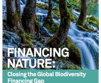 Financing Nature: closing the biodiversity financing gap