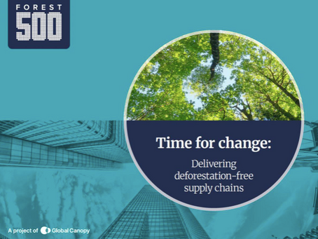 2 in 3 banks have no commitments to stop financing deforestation