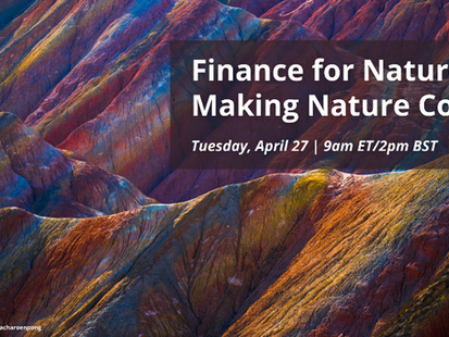 Finance For Biodiversity and Paulson Institute host forum on how to build a nature-positive economy