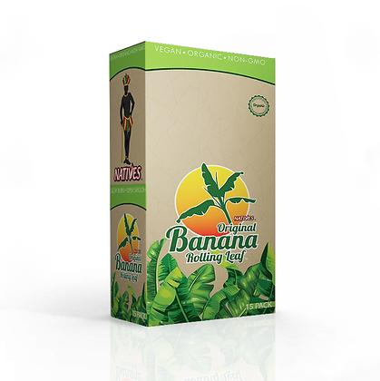 NATIVES Original Banana Rolling Leaf™ - 1 Case  (15 packs)