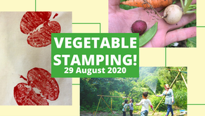 8/29 Vegetable Stamping!