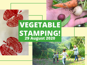 8/29 Vegetable Stamping!